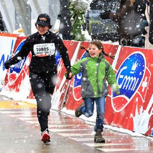 EMMI-Promotion am 6. Lucerne Marathon