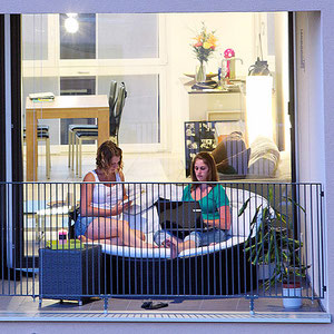 Fotos Web, Publireportagen und Broschueren Verima Wohnueberbauung Reusspark an Rathausenstrasse Emmen.