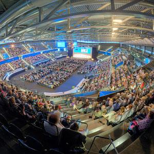 Generalversammlung der Zuger Kantonalbank in der BOSSARD arena