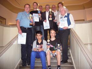 Alle Meister + Vizemeister der 3 Wettbewerbe im Jahr 2011