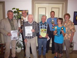 Franz Wildegger-Wassili Schudra-Albert Bayer-Paul Kienle   Toni Kottmair-Dennis Lassner-Waltraut Wellenhofer