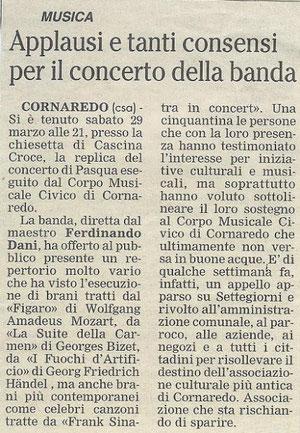 Cusago Concerto 2008
