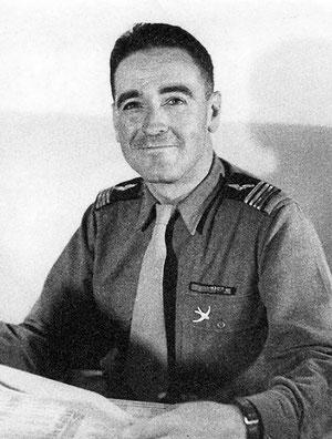 Der französische Pilot Hubert Monraisse
