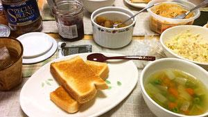 サンドイッチとスープランチ