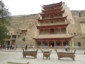 1000 Buddha Hoehlen in Dunhuang