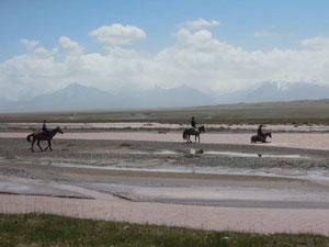 Für zwei Tage auf dem Pferd statt auf dem Velo