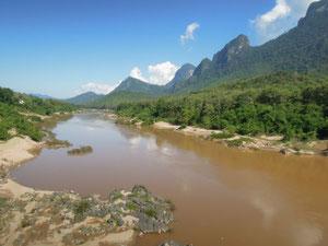 Landschaft im Norden von Laos