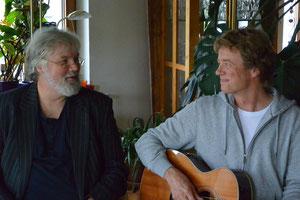Dr. Titus Simon (li)und Erik Beisswenger