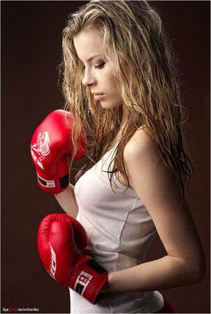 女子の習い事にボクシング