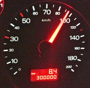 15.02.2012 Heute die 300.000 KM Grenze geknackt