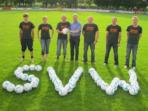 v.l.: Philipp Moormann, Cathrine Pahl, Klaus Dieckmann, Markus Ruhe, Stefan Ellmann, Jörg Pahl & Arndt Koslitzki