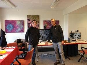 Swen Mattiesson und Ernst Neumann
