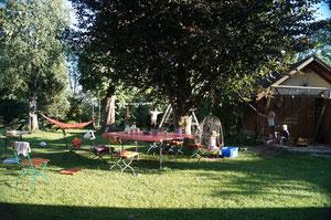 Ein Sommertag im Garten