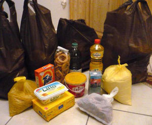 Lebensmittelspende