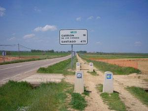 Noch 475 km bis Santiago