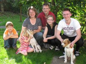 Familienfoto - Sommer 2011