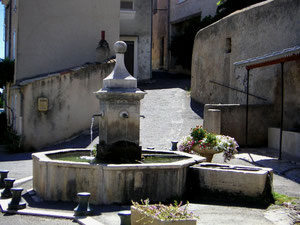 Fontaine octogonale