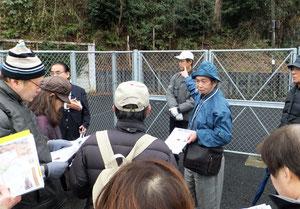 篠原城と緑を守る会のメンバー