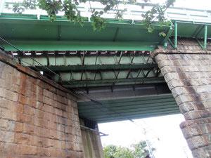 横浜線開通時の鉄橋