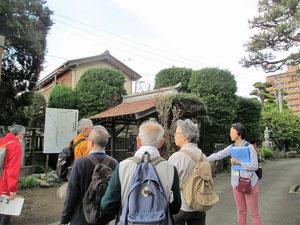 鎌倉道案内板