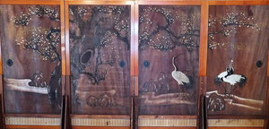 大林寺板絵(兎来画)