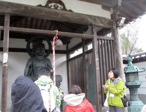 大林寺側の板碑