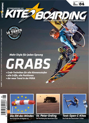 Cover Kiteboarding.de 05/2011