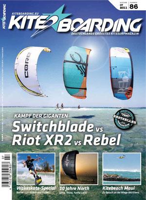 Kiteboarding.de Ausgabe 07/2011