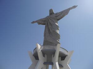 Christus-Statue in Itaporanga