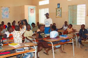 l'école primaire à Toubab Dialaw
