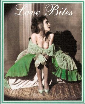 "Junge Frau in Ballkleid, mit freizügigem Dekolleté (Foto: Alexandre Dupoy, ""Scènes libertines"")"