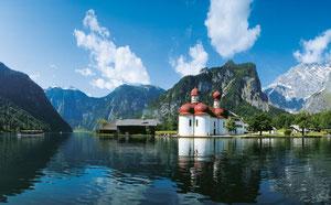 Königssee bei Berchtesgaden