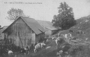 """La Thuille vers 1910 (Collection G. Lepère, association La Salévienne"""""""