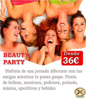 para organizar una beauty party en Cordoba