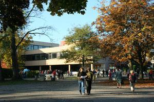 Schulhof des Gymnasiums