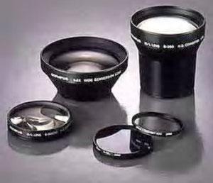 Lenti addizionali e  anelli adattatori  previsti per le  camere digitali  Olympus.
