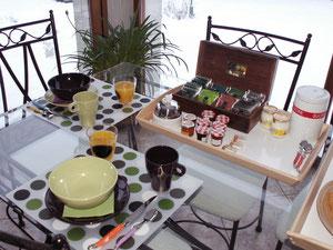 Petit-déjeuner Reilly (Oise)