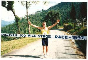 100 Meilen-Etappenlauf im Himalaya 1997