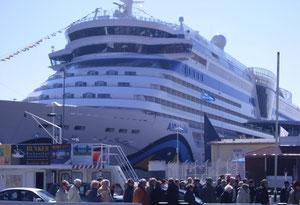 Überseehafen - Kreuzfahrtschiffe live erleben -