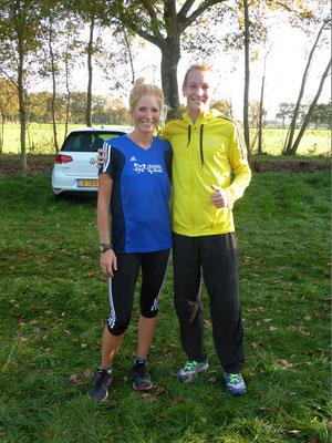 Jana Groß-Hardt (57:44 min) und Christoph Uphues (49:52 min) absolvierten die 15 km lange Strecke in sehr guten Zeiten.