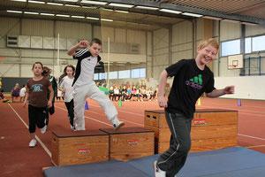 Der LAZy-Cup: Leichtathletik-Schnuppertag und gleichzeitig eine Möglichkeit zur Talentsichtung