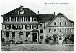 Die St. Josefspflege in MulfingenFoto: Dokumentations- und Kulturzentrum Deutscher Sinti und Roma, Heidelberg, alle Rechte vorbehalten!