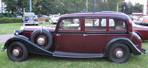 Horch Pullman (1934), Foto: Jed, Lizenz: Creative Commons Attribution-Share Alike 3.0 Unported