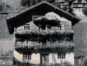"""1950er, das """"Ur-Haus"""""""