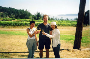Saturna Island winery