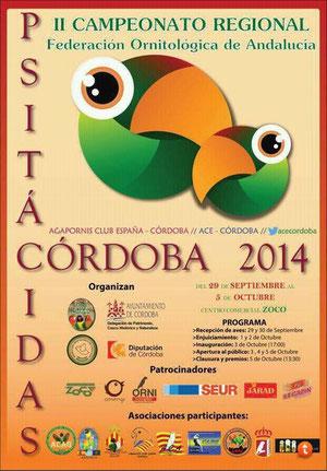 II campeonato regional FOA 2014, aviario miguel granada