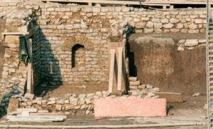 Römische Gebäudefundamente in Flehingen