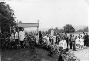 Fronleichnam 1953 in Derdingen