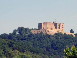 aktueller Blick auf das Hambacher Schloss
