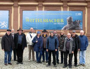 Gruppe des Heimatkreises in Mannheim